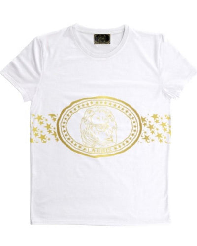 Lauris Couture Logo & Stars Male T-Shirt