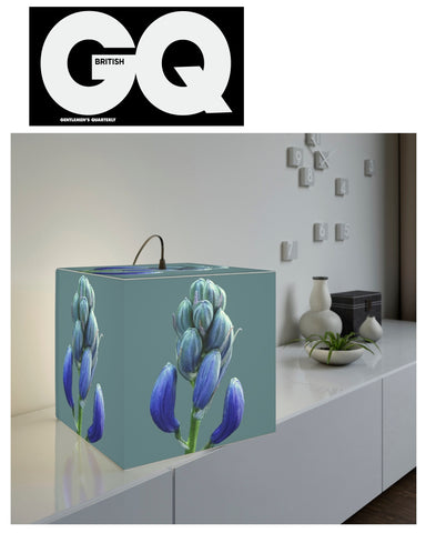 Blue Hive Cube Lamp - As Seen In British GQ, December 2020