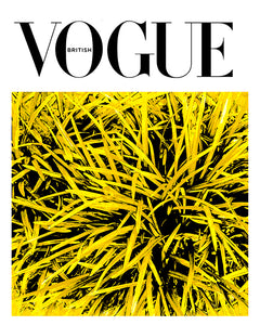 As Seen In British Vogue - Grass Yellow