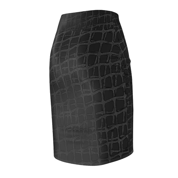 Web BlackBlack - Women's Pencil Skirt
