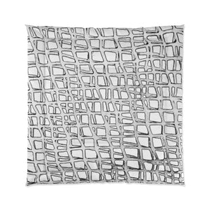 Web WhiteWhite Collection Comforter