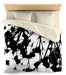 Black Babies Breathe Microfiber Duvet Cover