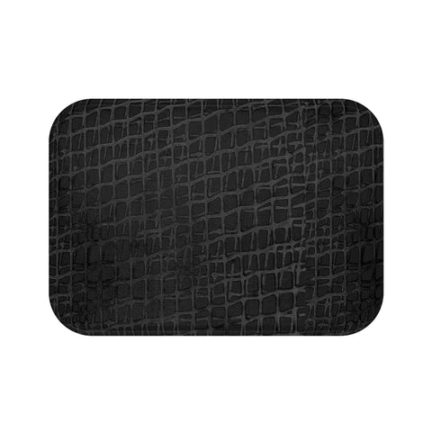 Web BlackBlack Collection Bath Mat