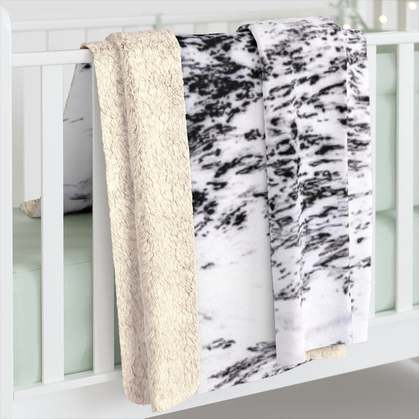 All The While Collection Sherpa Fleece Blanket