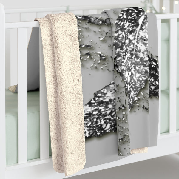 Hundred & Thousands Scattered Collection Sherpa Fleece Blanket