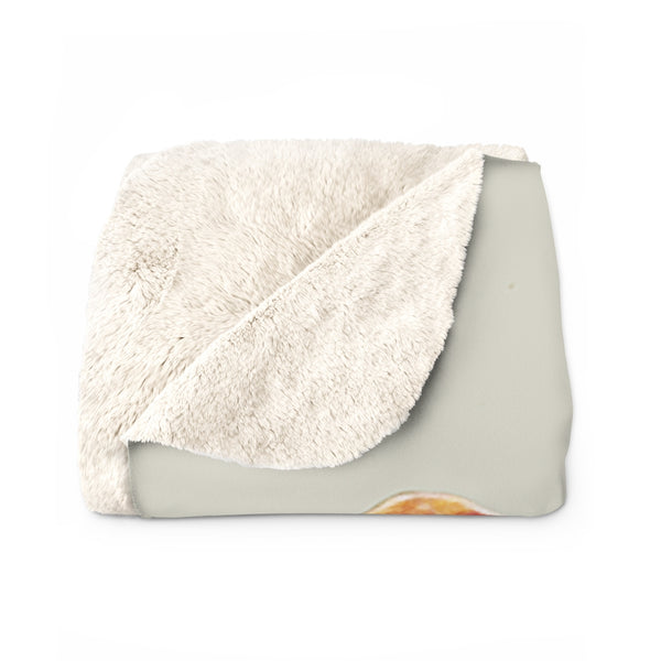 A Blooming Delight Sherpa Fleece Blanket