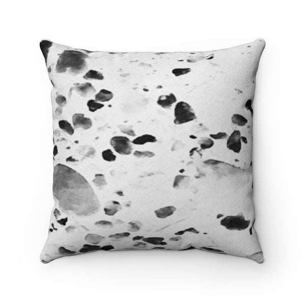 Never Enough Collection Faux Suede Square Pillow