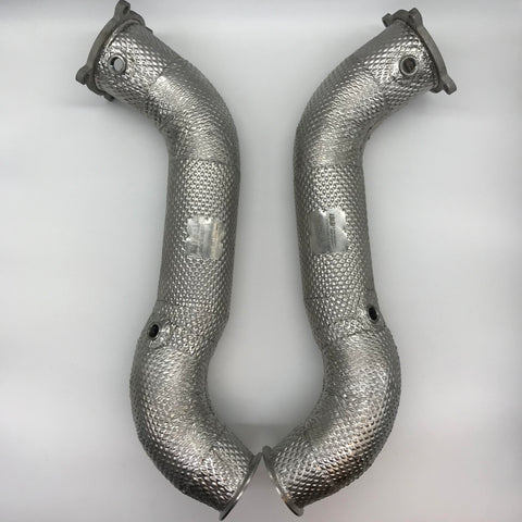 "McLaren 720s 3.5"" Competition Downpipes"