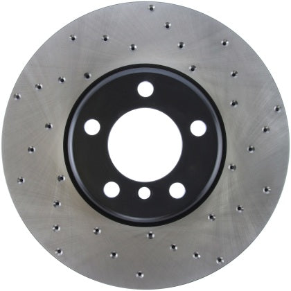 StopTech SportStop Drilled Rotors - F Chassis 2,3,4 Series M SPORT 370MM