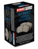 StopTech Street Brake Pads - Rear: M Sport Brakes - F Chassis 2/3/4 Series M2/M3/M4