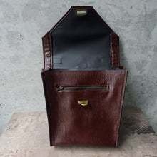 Load image into Gallery viewer, Convertible Maroon Faux-Leather Mini Bag
