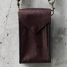 Load image into Gallery viewer, Convertible Maroon Faux-Leather Lightpack