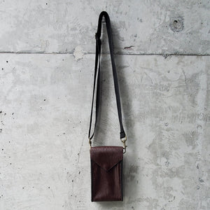 Convertible Maroon Faux-Leather Lightpack