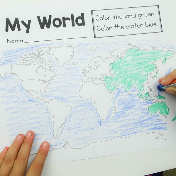 Around the World Preschool Lesson Plans