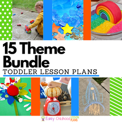 Toddler Lesson Plans BUNDLE