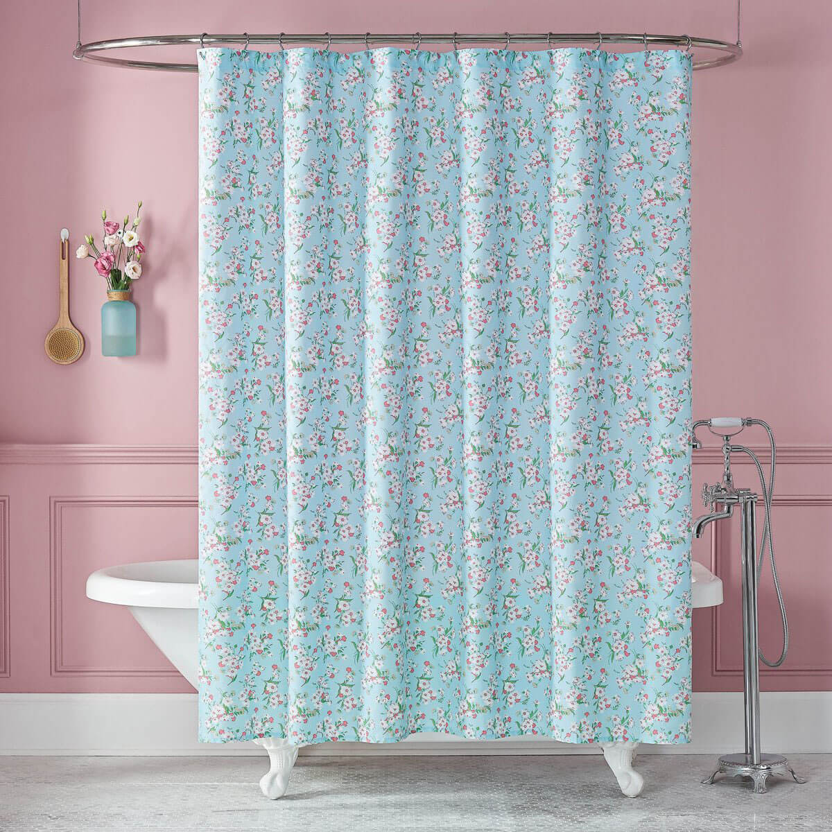 The Lady Pepperell Brigitte Shower Curtain