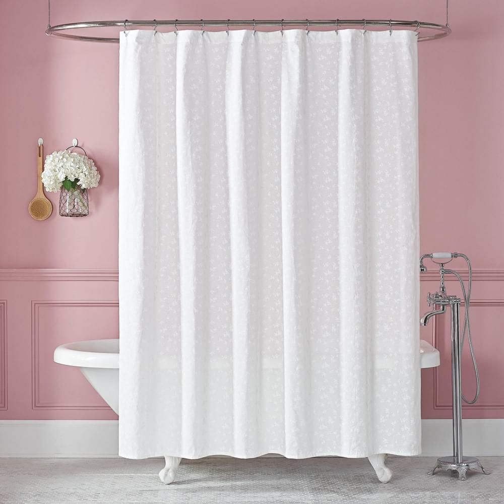 The Lady Pepperell Penelope Shower Curtain