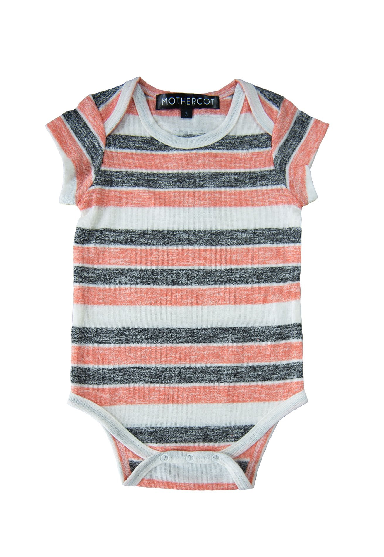 Stripes Knitted Romper Matching Sets Mothertots