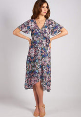 SALE Bring It On Nursing Wrap Dress  by Jump Eat Cry - Maternity and nursing wear