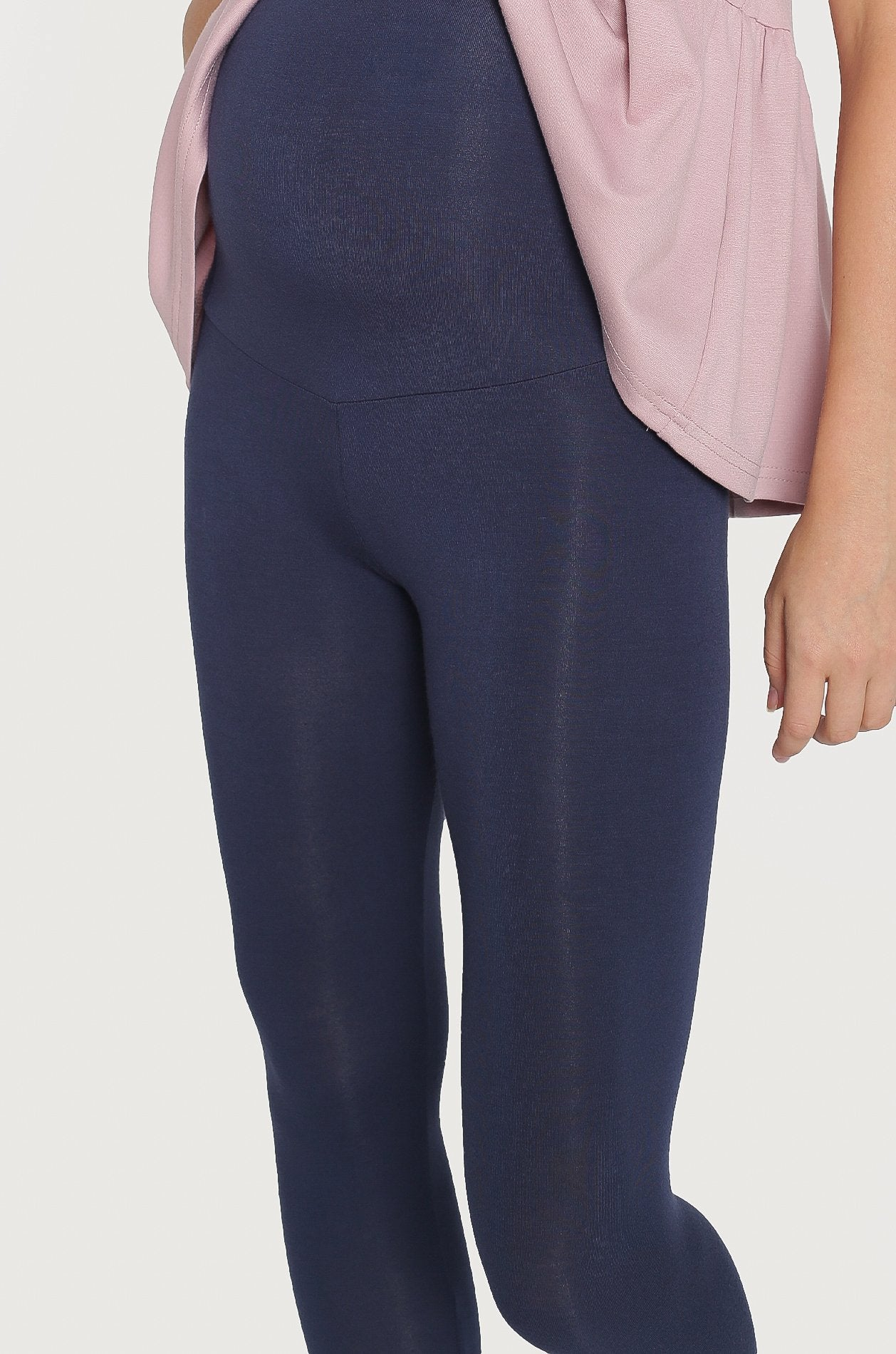 Esse Overbelly Leggings In Navy Nursing Wear Jump Eat Cry