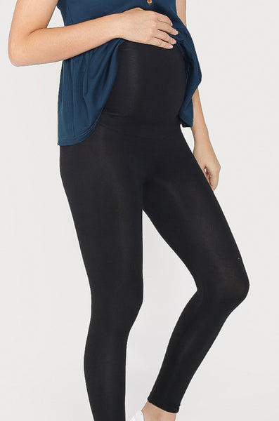 Esse Overbelly Leggings In Black