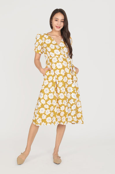 Josie Floral Printed Nursing Dress