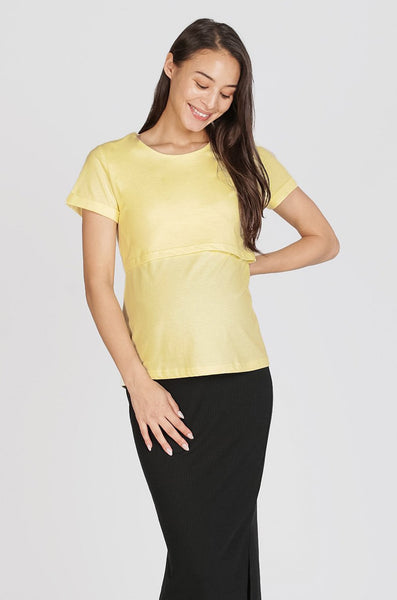 Gina Nursing Shirt In Yellow