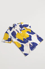Zina Abstract Lemon Printed Dad Shirt Matching Sets Jump Eat Cry