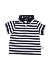 Sail Along Boy Polo Tee Matching Sets Mothertots