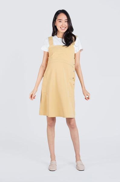 Eleanor Overall Nursing Dress