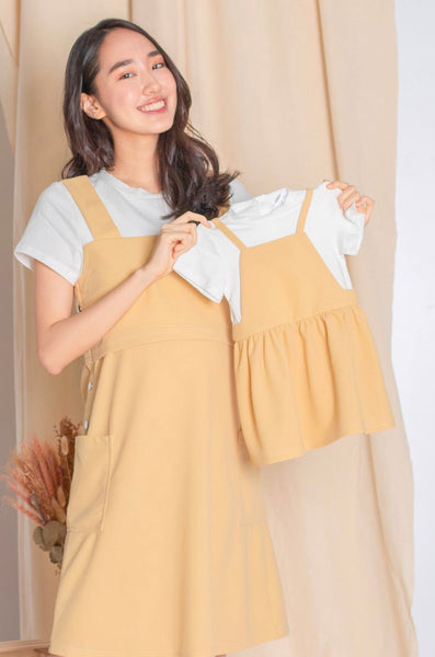 Eleanor Overall Flare Girl Dress