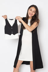 Aiden Vest Boy Shirt  by Jump Eat Cry - Maternity and nursing wear