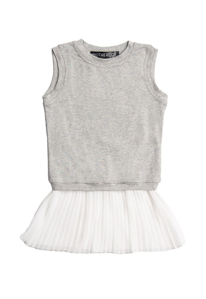 Alvanda Pleated Junior Dress