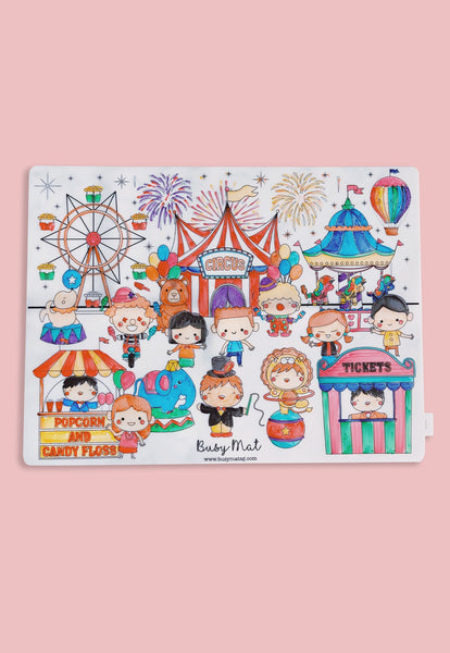 Busy Mat Large Placemat - Circus Carnival