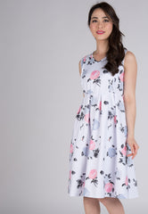 Mothercot High Hopes Nursing Dress  by JumpEatCry - Maternity and nursing wear