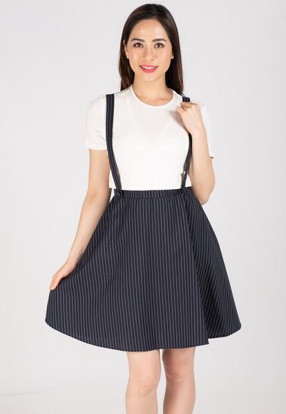 Maya Pinstripe Nursing Dress