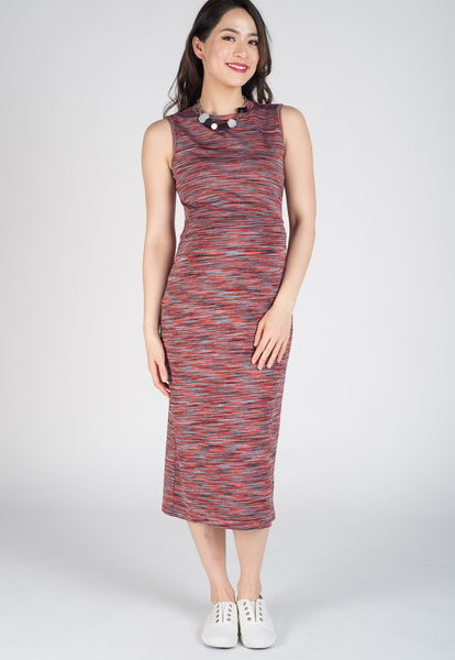 Kiss The Sky Midi Nursing Dress