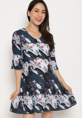 Tansy Fishtail Nursing Dress  by Jump Eat Cry - Maternity and nursing wear