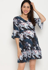 Tansy Fishtail Nursing Dress Nursing Wear Mothercot