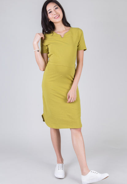 Camilla Waist Tie Nursing Dress