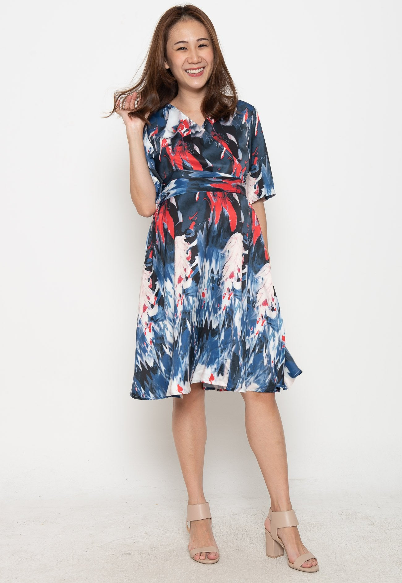 Spice Up Your Day Nursing Dress