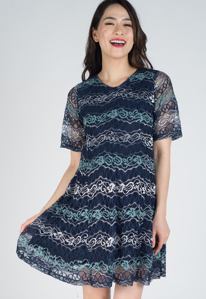 SALE Kimono Sleeves Lace Nursing Dress