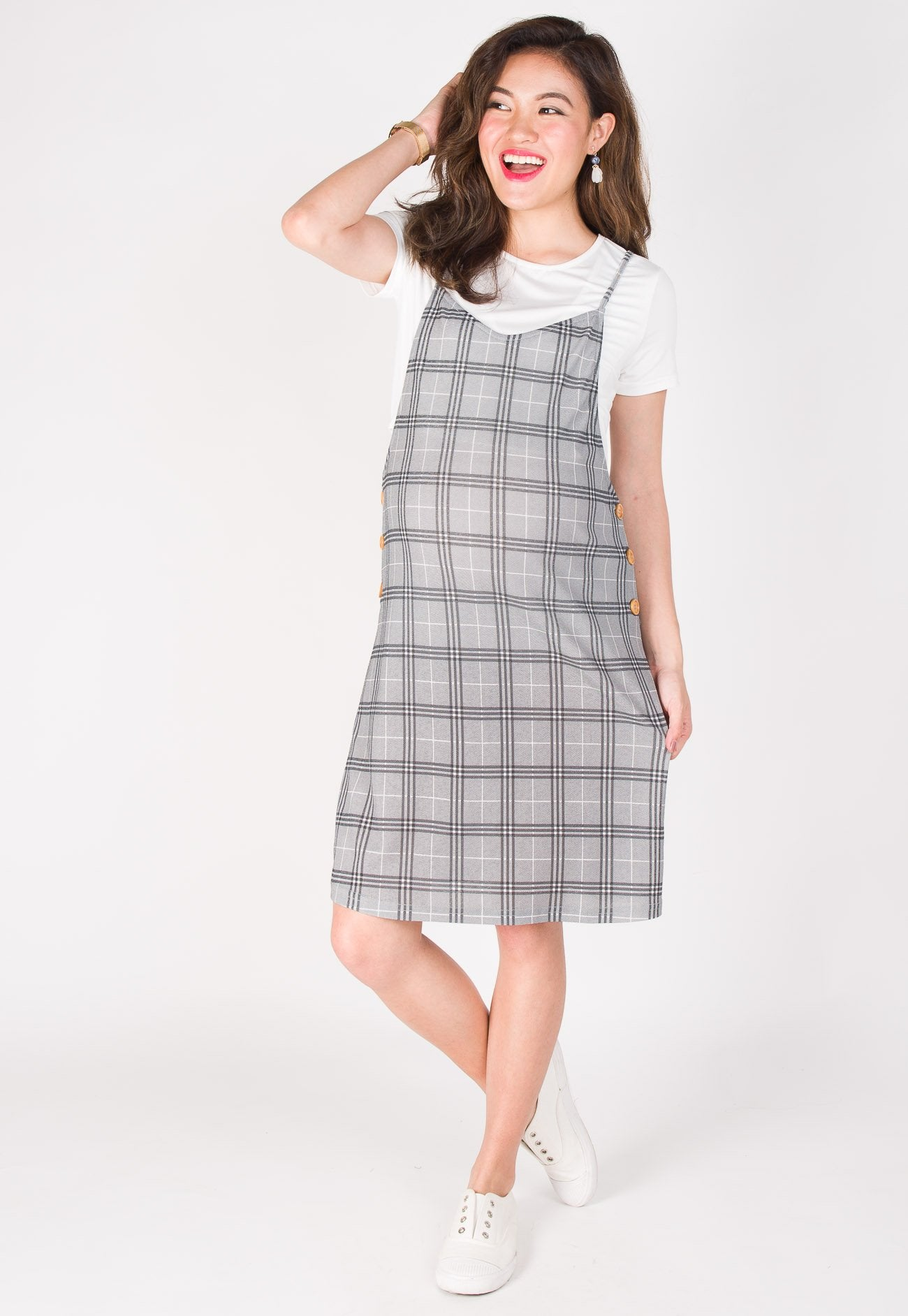 In Joy Nursing Dress  by Jump Eat Cry - Maternity and nursing wear