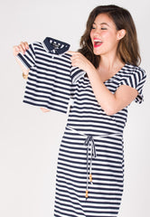 SALE Sail Along Boy Polo Tee  by Jump Eat Cry - Maternity and nursing wear