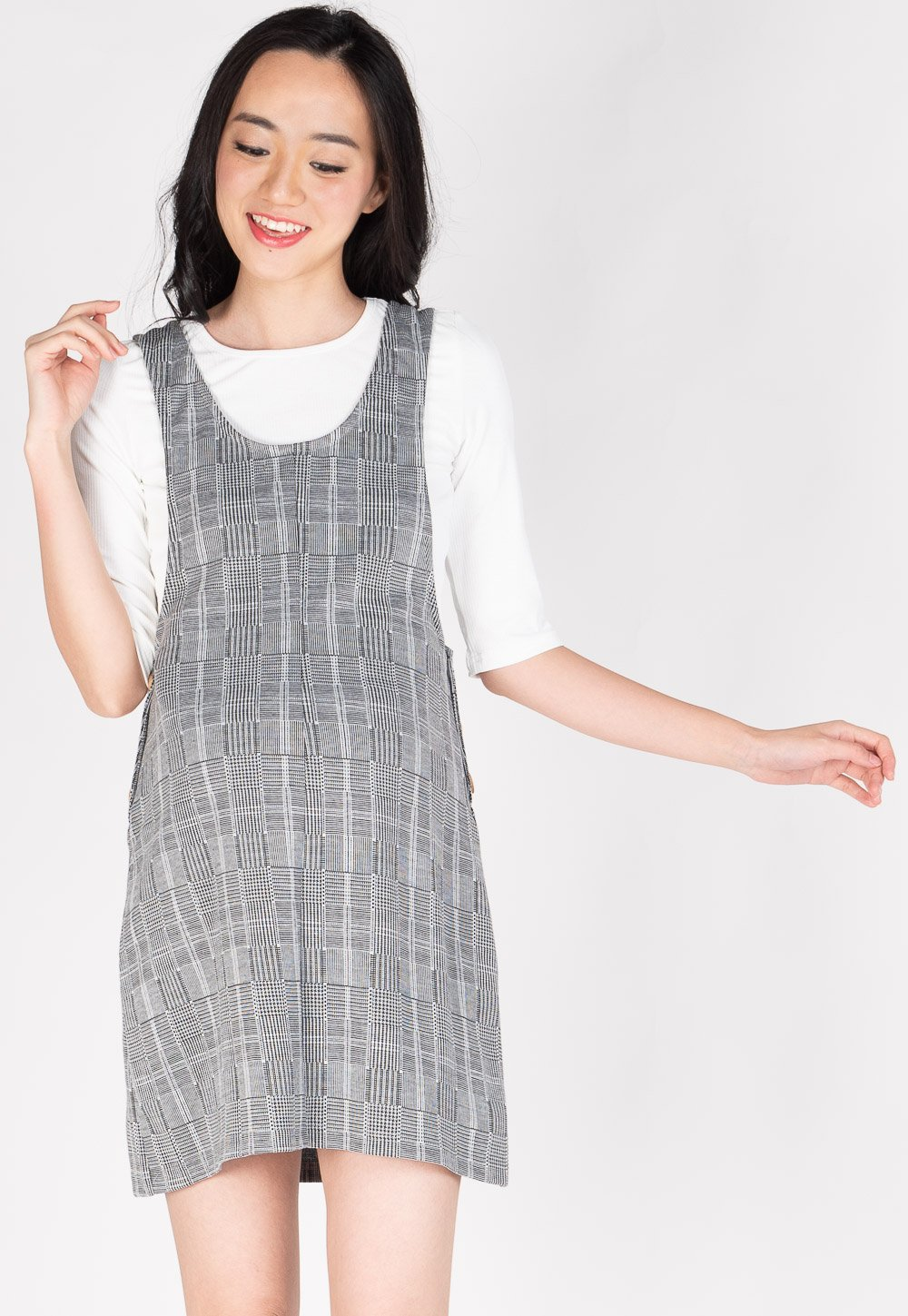 Happy Trails Nursing Two Piece Pinafore  by Jump Eat Cry - Maternity and nursing wear