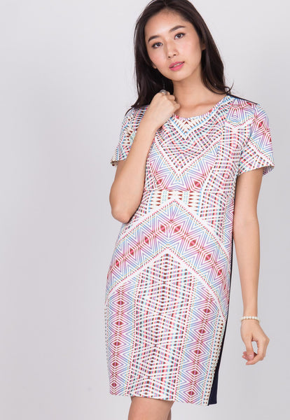 Zigzag Nursing Dress