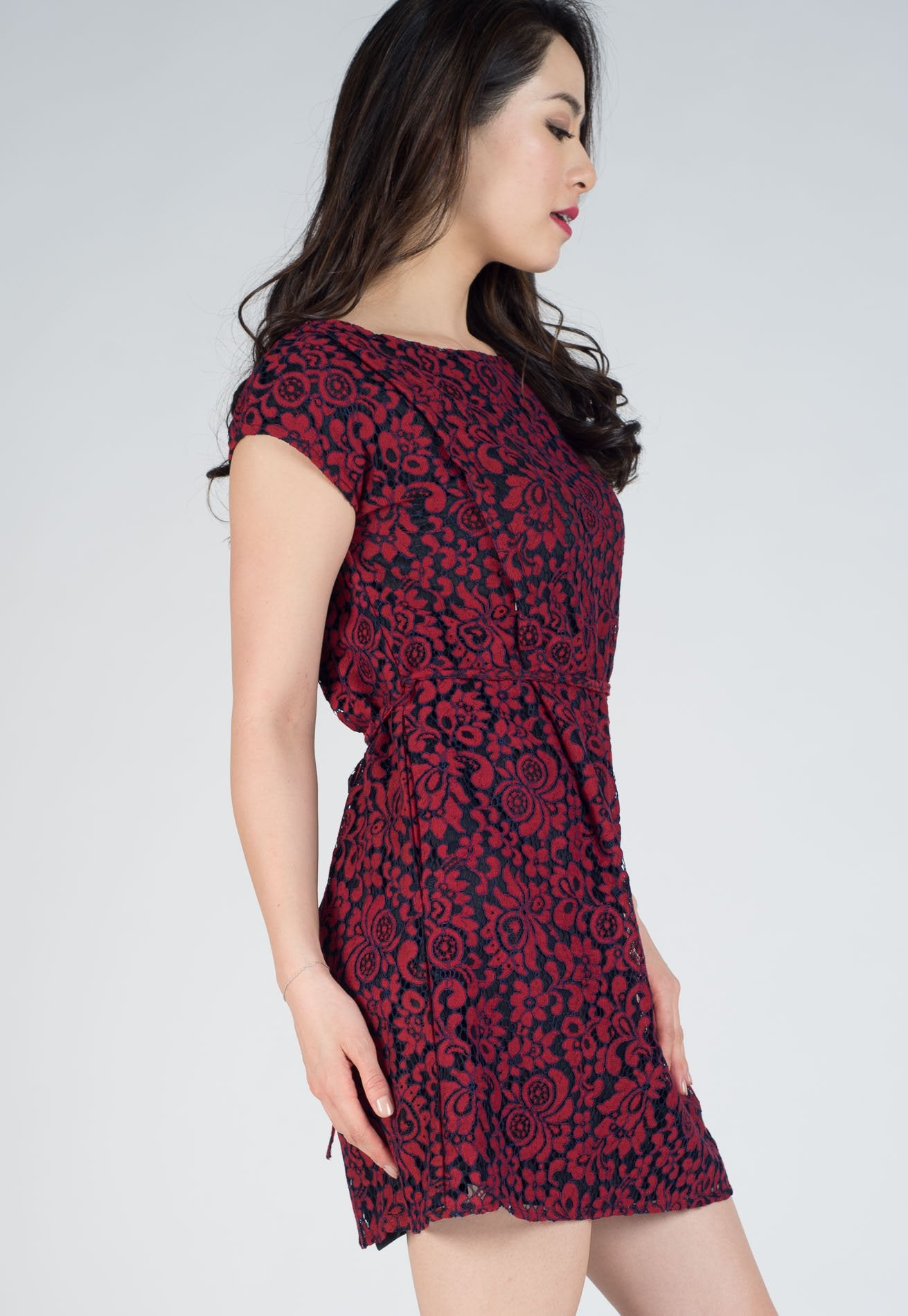 6164c96907df7 ... SALE Chester Lace Nursing Dress by Jump Eat Cry - Maternity and nursing  wear