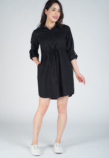 Dokota Nursing Shirtdress
