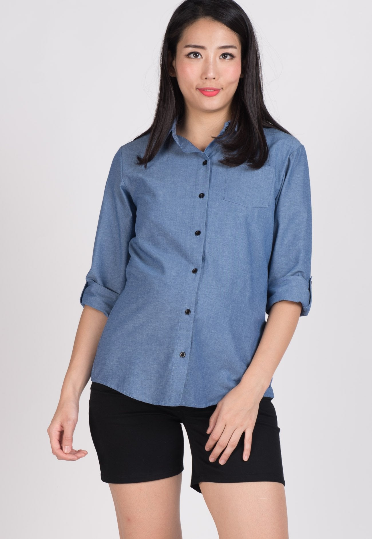 SALE Jeans Nursing Top  by JumpEatCry - Maternity and nursing wear