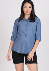 Mothercot SALE Jeans Nursing Top  by JumpEatCry - Maternity and nursing wear